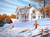 Winter-painting-John-Sloane