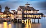 San Diego California waterfront dining