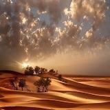 Clouds Over Desert
