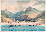 Cetara on the Gulf of Salerno by John 'Warwick' Smith