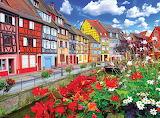 Colorful Buildings Colmar France
