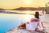 Relax, girl, love, sky, sea, landscape, coast, nature, woman, su