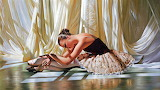 Ballerina-oil-painting