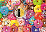 Coffee and Lots of Donuts