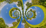 creative greens spirals