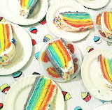 Rotate the rainbow slices