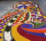 Spello flower carpet