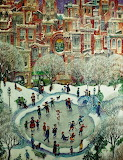 Art Ice City Skaters By Bill Bell