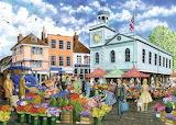 Spring Village - Fiona Osbaldstone