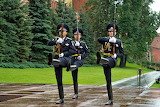Honor guard of the Moscow Kremlin