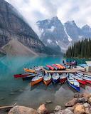Kayaks in Alberta
