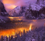 Yosemite Valley at Dusk...