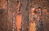 Old rusty door