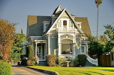 Victorian style, Redlands, California, USA