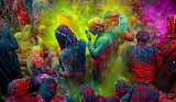 Festival of colors - india
