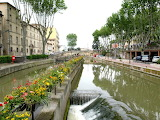 Floral Canal Divider - Narbonne