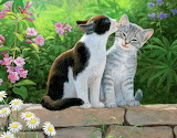 Persis C.Weirs _ A pair of cats