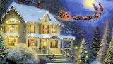 Christmas-By Thomas Kinkade