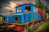 Railway Tractor & Cars