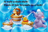 Pooh's bath-time