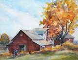 ^ Country Barn ~ Heidi Ludwig