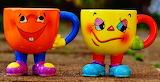 ☺♥ Pretty cups...