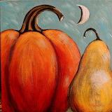 Pumpkin Pear Moon