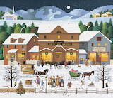 Christmas Eve by Charles Wysocki