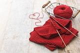 Heart yarn