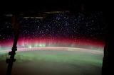 "Space ""Aurora Australis"" ISS ""© ESA:NASA"""