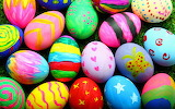 Colours-colorful-Easter-decorated eggs-shutterstock