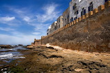 Outside City Wall Essaquira Morocco