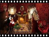 Victorian Christmas Setting