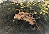 Abbazia di Monte Oliveto Maggiore Siena - dall'alto