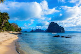 Scenery Tropics Coast Philippines Sky Sea Palawan 513047 1280x85