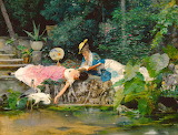 Girls at the Pond~ Vincenzo Capobianchi