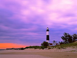 BIG SABLE POINT LIGHTHOUSE, LUDINGTON STATE PARK, MICHIGAN