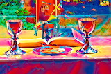 colorful Chalices abstract