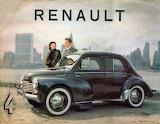 Renault 4 CV Brochure 1954