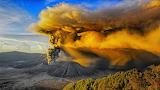 Sunrise Eruption Mt. Bromo Indonesia
