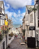 Clovelly Village Britain England UK
