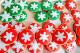 Holiday cookies @ Dulcificando la vida