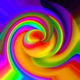 Bright Spiral...