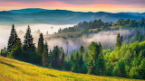 Sunrise, Carpathian Mountains, Ukraine