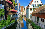 Fishermen's and Tanners Quarter Ulm Germany
