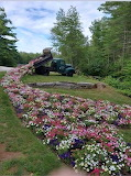 Flowers dump truck