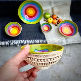 Colorful Ceramic Bowl