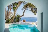 Luxury Santorini Villa pool
