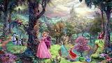Thomas Kinkade Sleeping Beauty