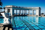 Swimming pool at hearst castle california